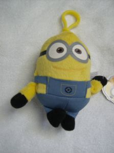Despicable ME2 minion bag cilp no 1